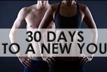 • 30 Day Fitness Challenges • / Want to tone up, burn fat and look great fast? Take our 30 day challenges to see results!
