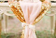 T H E M E ~~ Gold And Blush