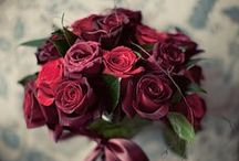 T H E M E ~~ Marsala / 2015 wedding trend colour: marsala