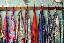 Sjaals: zo orden je ze / Hoe berg jij je sjaals op? Doe ideeën op in het ordenen van je shawls!