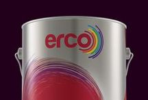 Packaging / Erco - Ece Boya Series / Erco / Ece Boya A.Ş. Paint Packaging Designs
