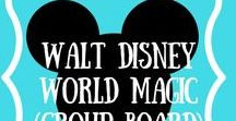 Walt Disney World Magic (Group Board) / This board is for all things related to the Happiest Place on Earth, Walt Disney World! This is your board for Disney travel tips, Disney food and more! This Board is Closed To New Contributers. Cheers!