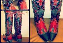 I'd wear that  / clothing I like, mostly western clothing, lots of boots and a little bit of fancy / by Kaylee Sparkman