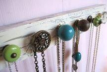 Unique Jewelry Storage Ideas / Unique jewelry storage ideas.