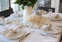 Tablescapes Ideas & Outdoor Tables / Time to Dine / by MARTHA LUCIA AGONH