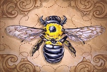 "Bees / ""Aerodynamically, the bumble bee shouldn't be able to fly, but the bumble bee doesn't know it so it goes on flying anyway."" ~ Mary Kay Ash"
