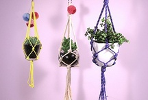 Macramé Joy / Macrame is not just retro chic! Here are a selection of our favourite projects, DIY's, knotting techniques and fun home decor ideas inspired by the oh so cool traditional macrame knotting technique