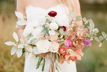Wedding Blooms / Wedding flower inspiration for brides (and grooms) to be!