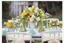 Mint & Yellow Wedding!