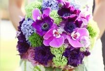 The Purple & (Spring) Green Wedding!
