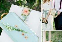 The Mint & Peach Wedding