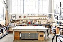 Dream Studio / Elements of my dream jewelry studio.