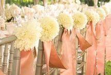 Mixed Neutrals: The Ivory, Pink & Grey Wedding