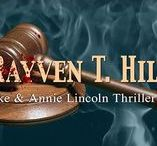 Upcoming Books / Information on future mystery books by Rayven T. Hill.