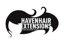 Hair Extensions Logos / Get inspired by Hair Extensions logos. Tell your story and grab the attention in less then a second ! See our post for more http://www.howtosellhairextensions.com/2016/04/15/design-your-own-hair-extensions-logo/