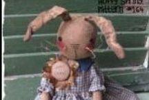 Pattern Hutch cloth doll patterns