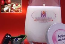 Fruity Marquee Candles
