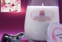 Floral Marquee Candles