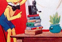 teaching: media vintage / vintage images for lectures / by sandshoevintage prints