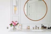 Home: Clean Bathroom Design / Bathroom inspiration