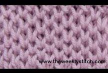 Knitting/crochet techniques