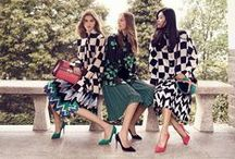 """#FerragamoFW16 Collection / Autumn Winter 2016-17 campaign extends the concept that celebrates an inherently Italian activity - revelling the splendour of life. While depicting the joi-de-vivre and playfulness central to the House today, """"lo splendore della vita"""" also marries with the timeless values of founder Salvatore Ferragamo, as dedicated himself to the pursuit of luxury living."""