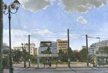 """Οδός Σταδίου / Ομαδική εικαστική έκθεση στην  #IANOS Αίθουσα Τέχνης Σε συνεργασία με την Ομάδα  """"ΚΑΘΕ ΣΑΒΒΑΤΟ ΣΤΗΝ ΑΘΗΝΑ"""" Εγκαίνια: 5 Δεκεμβρίου 2013, 20.30 μ.μ. , Διάρκεια: 5 Δεκεμβρίου 2013 - 5 Ιανουαρίου 2014"""