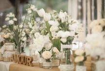 Idées fleuries / Belles idées de déco fleuries, assortiment de couleurs, inspirations florales