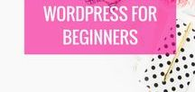 WordPress For Beginners / Wordpress, how to use wordpress, plug-ins, themes, beginners guide to wordpress, categories on wordpress, tags on wordpress, writing your first post, hosting, choosing a host, choosing a platform, WordPress for beginners, how to start a blog on WordPress, The difference between self-hosted WordPress and WordPress.com