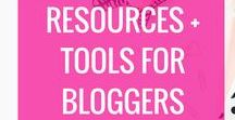 Blogging Resources & Tools / Resources for Bloggers, Blogging, Making Money Blogging, How to start a blog, resources for mompreneurs, tools to grow your blog, tools to grow your business, resources for bloggerd