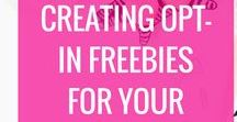 Creating Opt-in Freebies & Lead Magnets / opt in freebies, lead magnets, content upgrades, how to create an opt-in freebie, how to make a lead magnet, email marketing ], ow to create freebies for your blog, creating lead magnets