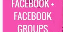 Facebook + Facebook Groups / Facebook groups, how to grow a Facebook group, Facebook Ads, Facebook Marketing, Getting engagement in your Facebook group, Using Facebook in your business, Facebook groups to grow your blog or business