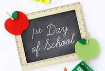 Back to School / Creative and fun back to school crafts, school lunch ideas, teacher gifts, book lists, and more!