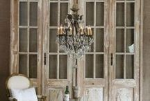 Architectural Decor - DIY / Creating a room from Old Items / by Shannon Cauble
