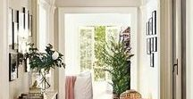 Living Rooms & Foyers / Beautifully detailed living rooms, foyers, entry halls and hall ways to live in.