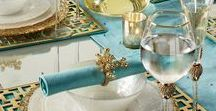 Color: Aqua & Turquoise / Trending colors for fashion or home decor!