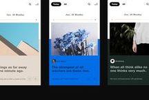 UI Design / User interface design. Website design.
