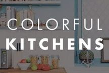 Colorful Kitchens / Looking for paint inspiration for your kitchen? Check out our kitchen board for a myriad styles and paint colors.