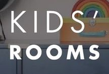 Kids' Rooms / Paint color inspiration to create the perfect space for your little, or not so little one.