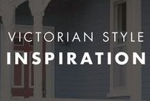 Victorian Style Inspiration / Lovely color inspiration for your Victorian home.