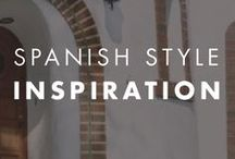 Spanish Style Inspiration / Find the perfect color combination for your Spanish or Mediterranean style home.