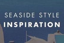 Seaside Style Inspiration / Beach theme inspired paint color combinations.