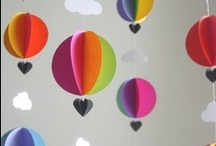 Party Themes--Hot Air Balloon Birthday / Ezra's 2nd