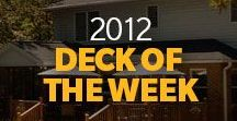 2012 Cabot Deck of the Week Winners / 2012 CABOT DECK OF THE WEEK, from coast-to-coast, hundreds of people showed us the fruits of their labor. Cabot is proud to be a part of the memories that are made on these and so many other beautiful outdoor living spaces.