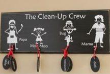 Mommy's Little Helper  / Fun, creative ways to encourage kids help around the house.