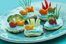 Snack Time / Great ideas to help your little one eat healthy and tips on making it easier for moms!