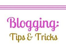 Blogging: Tips + Tricks / Any tips, tricks, ideas, tutorials etc to help make blogging a little easier.