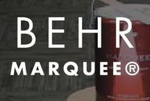 BEHR MARQUEE® / Click here to see the remarkable things that the BEHR Marquee paint line can do for your home. These high-quality interior paints contain a range of bold and modern colors. Explore this board to learn more.