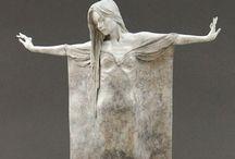 El mundo y arte de la Escultura / Técnicas e ideas clásicas y nuevas / by Gabrie Rodriguez Alvarez Malo