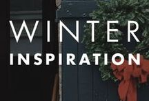 Winter Inspiration / The crystalline beauty of winter can present itself in your home in more ways than one. Use this board to find design inspiration for all your DIY projects and interior decorating ideas. Whether it's just for the holidays or all year long, you'll love these easy design ideas.